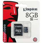 MEMORIA MICRO SD KINGSTON 8 GB SDC4/8GB