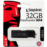PEN DRIVE 32 GB DT104/32GB KINGSTON