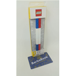 SET 2 PENNE GEL BLU ROSSA LEGO ART.52642