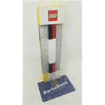 SET 2 PENNE GEL NERA ROSSA LEGO ART.52643