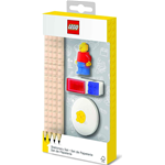 SET STATIONERY + MINIFIGURE LEGO ART.52053