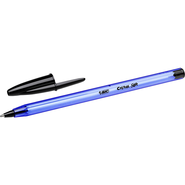 50 Penne a sfera bic cristal soft NERE medie