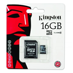 MEMORIA MICRO SD 16 GB KINGSTON SDC4/16GB