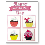 DECORAZIONI 3D SBA301 HAPPY MOTHER'S DAY